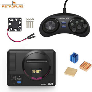 Details about Retroflag MEGAPi Case Game Controller Functional Button for  Raspberry Pi 3 B Plu