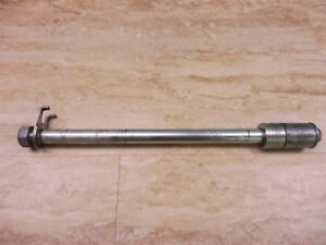 1991 Honda CB750 CB 750 Nighthawk Rear Wheel Axle PL126 +