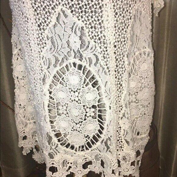 Free People Vintage Lace Dress - image 4