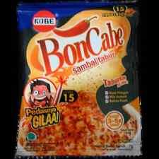 10X 7gr Kobe Bon Cabe Sambal Tabur Chili Original Flavor Level 15 Hot Spicy 70gr