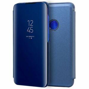 Funda-Flip-Cover-Xiaomi-Redmi-Note-7-Note-7-Pro-Clear-View-Azul