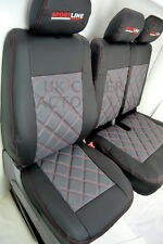 VW TRANSPORTER T5 VAN SEAT COVER TAILORED GREY 150GYBK-RD
