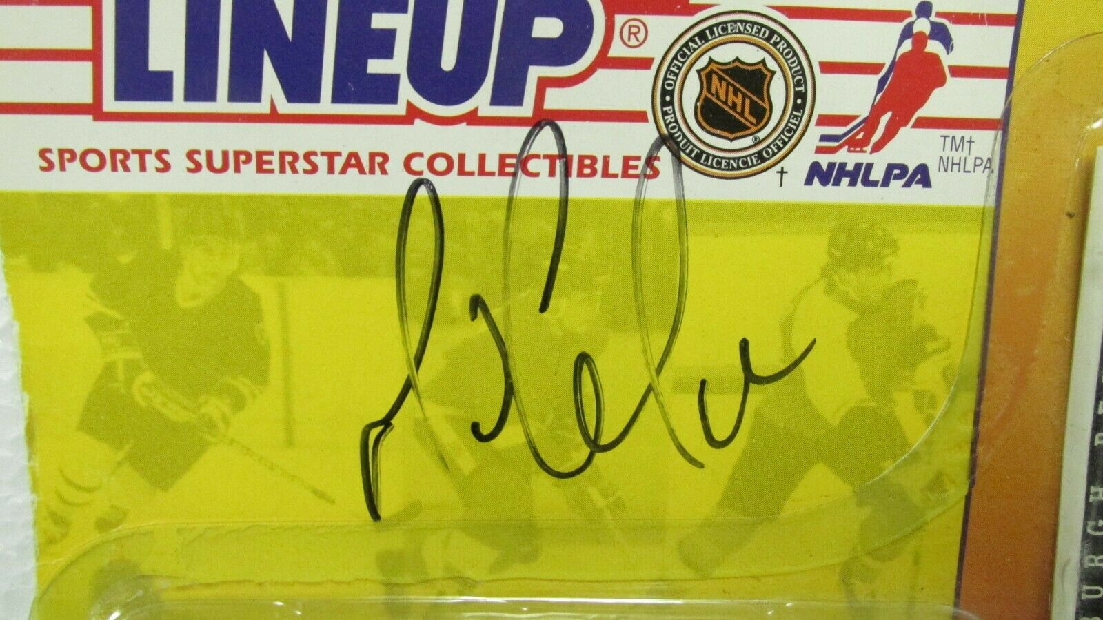 Kenner Starting Lineup Sports 1994 Pittsburgh Pittsburgh Pittsburgh Penguins Mario Lemieux Signed ed32b8
