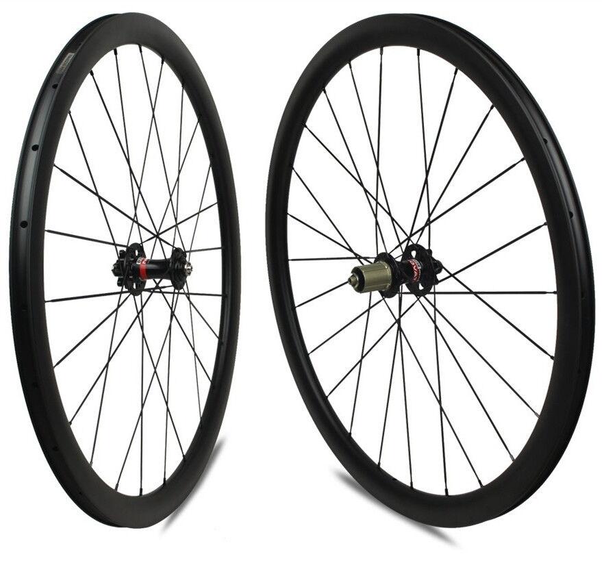700C 48mm depth 27mm width Road Bike Carbon Wheels Cycle  Cross gravel bicycle  preferential