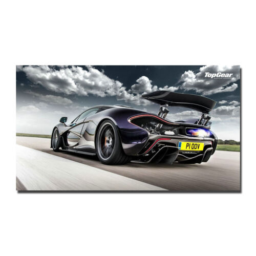 Mclaren P1 Super Car Art Silk Posters 13x24 24x43inch 010