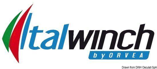 Seilwinde 1500W ITALWINCH Liegeplatz-Winde Nestor 1500W Seilwinde 24V Marke Italwinch 02.412.13 12728c
