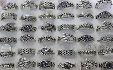 Wholesale bulk 40pcs Alloy Mix Design Cool Men/women Fashion rings Jewelry Lots