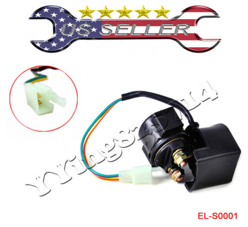 Starter Solenoid Relay for Honda Fourtrax 200 TRX200 TRX200SX 1986-1988