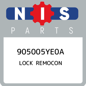 905005YE0A-Nissan-Lock-remocon-905005YE0A-New-Genuine-OEM-Part
