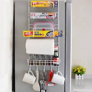 5Tiers-Iron-Wall-Mount-Kitchen-Freezer-Door-Spice-Rack-Cabinet-Organizer-Storage