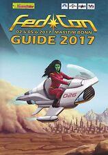 Fedcon 26 Convention 2017 Programmheft Programm Guide Star Trek Star Wars Dr Who