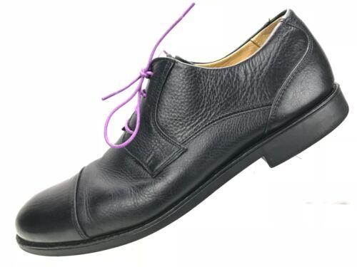 Oxfords Belvedere Cap Black Pebbled Sole Toe Flex Uomo 40330402 Taglia Studio Leather 13d wzxwSFqar