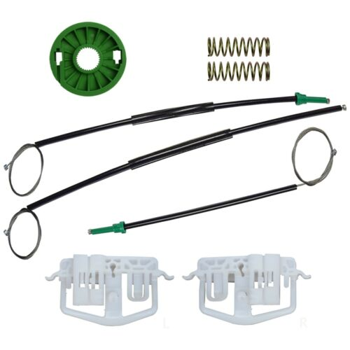 Ford fiesta 2//3 Puertas Ventana Regulador Reparación Kit Frontal Izquierdo del lado del pasajero