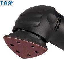 TASP 25PC 93mm Delta Sand Paper Sheet 60 80 120 180 240 Grit sandpaper Hook Loop