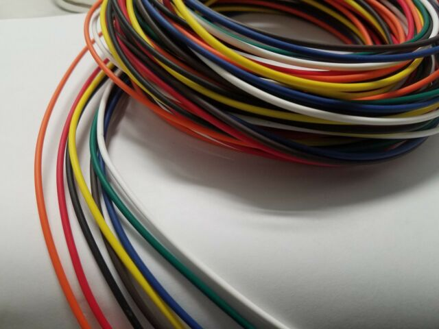 12 AWG GXL HIGHTEMP AUTOMOTIVE POWER WIRE 8 SOLID COLORS 25 FTEA 200/' bwrgybbo