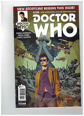 DOCTOR WHO: THE TENTH DOCTOR #6  Cover A                     / 2015 Titan Comics