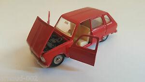 Dinky Toys - 1416 Renault 6 (dtf, Pas Atlas) Vn Neuf