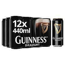 Guinness Draught 12x0,44l, alc. 4,2 Vol.-%, Bier aus Irland