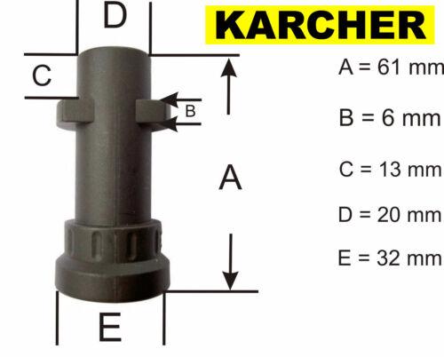 10 M tubo di drenaggio per la pulizia con ugello rotante-KARCHER K5 SERIE IDROPULITRICE