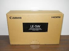 NEW Canon LE-5W DLP Multimedia Projector 8483B002AA Black Color
