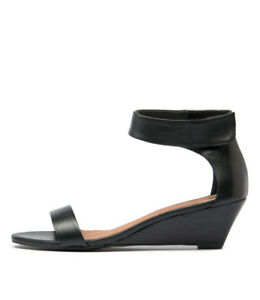 New-Mollini-Marsy-Black-Lea-Black-Womens-Shoes-Dress-Sandals-Heeled