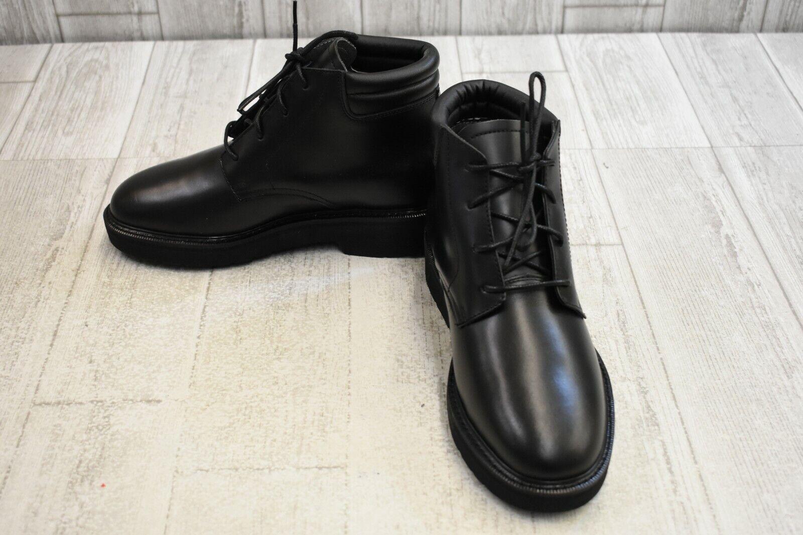 Rocky FQ00501 botas-Para Hombres M, Negro