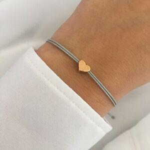 filigranes Armband Herz Liebe Geschenkidee Makramee Makrameearmband