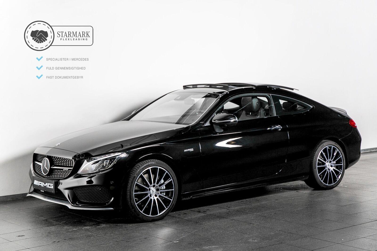 Mercedes-Benz C43 3,0 AMG Coupé aut. 4-M