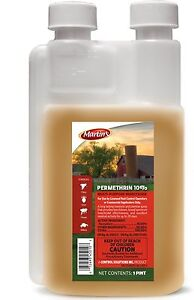 Martins-Permethrin-10-Livestock-Dog-Kennel-Ticks-Fleas-8oz-Permetherin-10