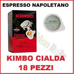 KIMBO-CIALDA-KIT-18-PEZZI-CAFFE-039-ESPRESSO-NAPOLI-NAPOLETANO-GUSTO-DECISO-CAFFE