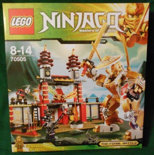 Ninjago Temple of Light Lego 70505 New Sealed.