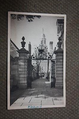 Vintage Postcard #49, Pierson Tower, Yale University, New Haven, Connecticut