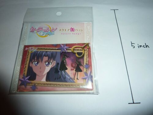 Sailor Moon Crystal Square badge Mars