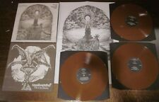 "VARATHRON ""Geneses of...Evil"" DH TRIPLE BRONZE LP rotting christ blasphemy venom"