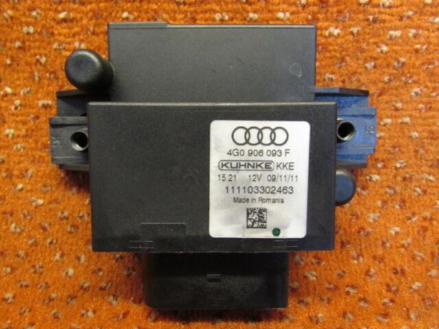 4G0906093F Controller Fuel Pump Tank Pump Audi A4 8K A5 8T Q5 Original