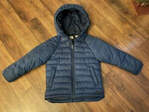 Zara Baby Boy Winter Puffer Jacket 3 4 Years Blue Coat ...