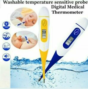 LCD Digital Thermometer For Baby Kids & Adult Health Medical Thermometers
