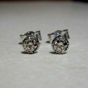 New-Halo-1-5ct-Diamond-9ct-White-Gold-Stud-Earrings-110-or-Best-Offer-Freepost