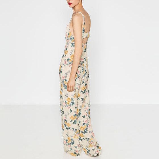 b3201755 Zara Woman NWT Floral Jumpsuit Piece Sz M Pantsuit 2877 824 Romper One  ogiozj7734-Jumpsuits & Rompers