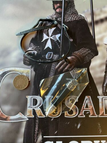 COO Models Crusader Knights Hospitaller SE058 METAL Dagger loose 1//6th scale