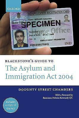 Chambers, Doughty Street, Blackstone's Guide to the Asylum and Immigration Act 2