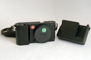 Leica T Fotocamera Digitale Mirrorless (Nera) Normali segni d'uso