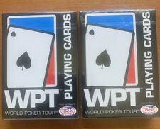 NEW SEALED! World Poker Tour WPT White BEE V1 Playing Cards USA Made