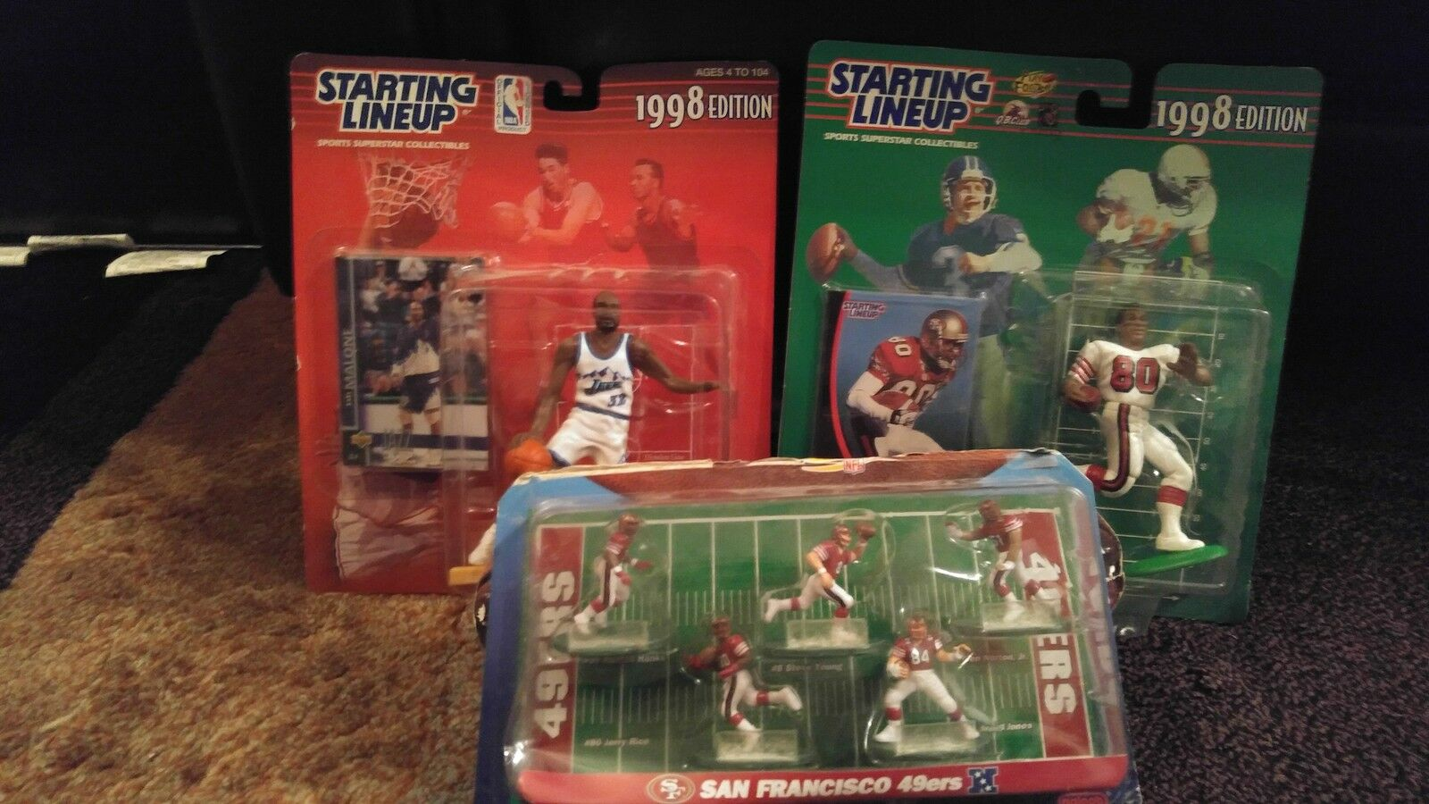 1990s Starting Lineup Hall of Famers Collectibles