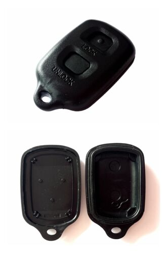 2Tasten Boîtier de Télécommande Clé Voiture pour Toyota Auris Avensis Camry