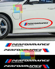 VINILI ADESIVI SPORTELLI LATERALI BMW SERIE 5 E39 LOGO M PERFORMACE