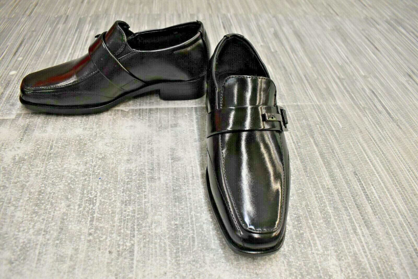 **Stacy Adams Bartley 43310-001 Loafer Dress Shoes, Little Boy's Size 11.5M NEW