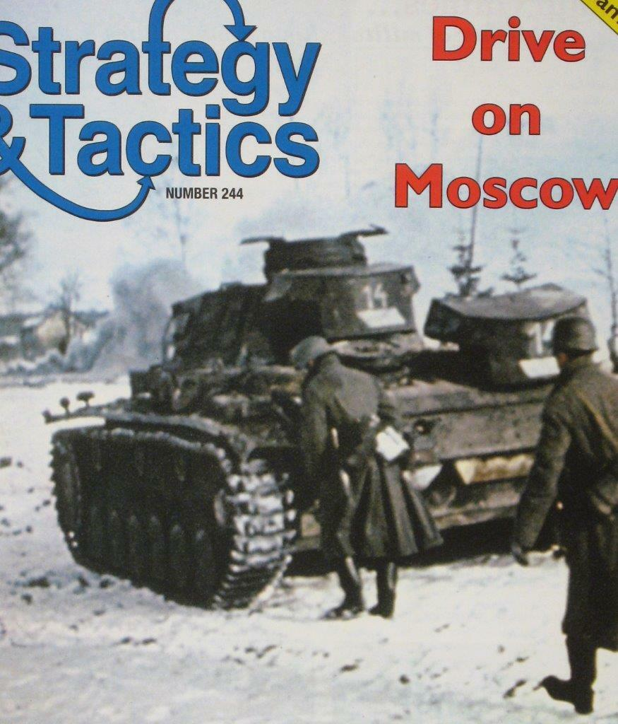 Strategy & Tactics 244, Drive on Moscow, 2 Games , S&T, DG, Unpunched, Bonus