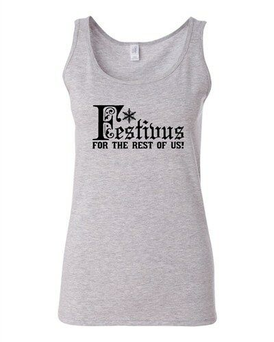 Junior Festivus For The Rest Of Us Daniel O/' Keefe Graphic Humor Tank Top