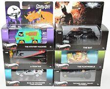 Hot Wheels Elite One Movie Cars Lot Scooby-Doo Flintstones Batman A-Team ...